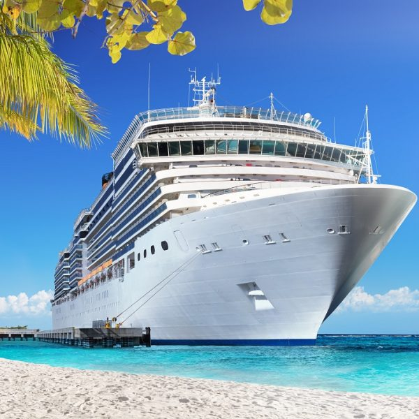 Cruise,To,Caribbean,With,Palm,Trees,-,Tropical,Beach,Holiday